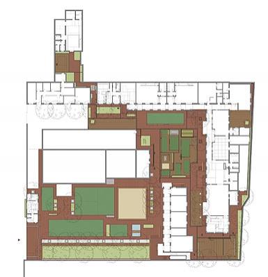 农村平房三间庭院平面设计图